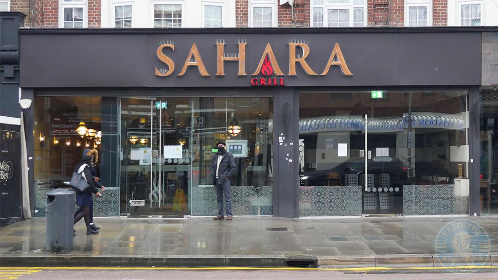 Sahara Grill Halal restaurants & takeaways in east London's Gants Hill