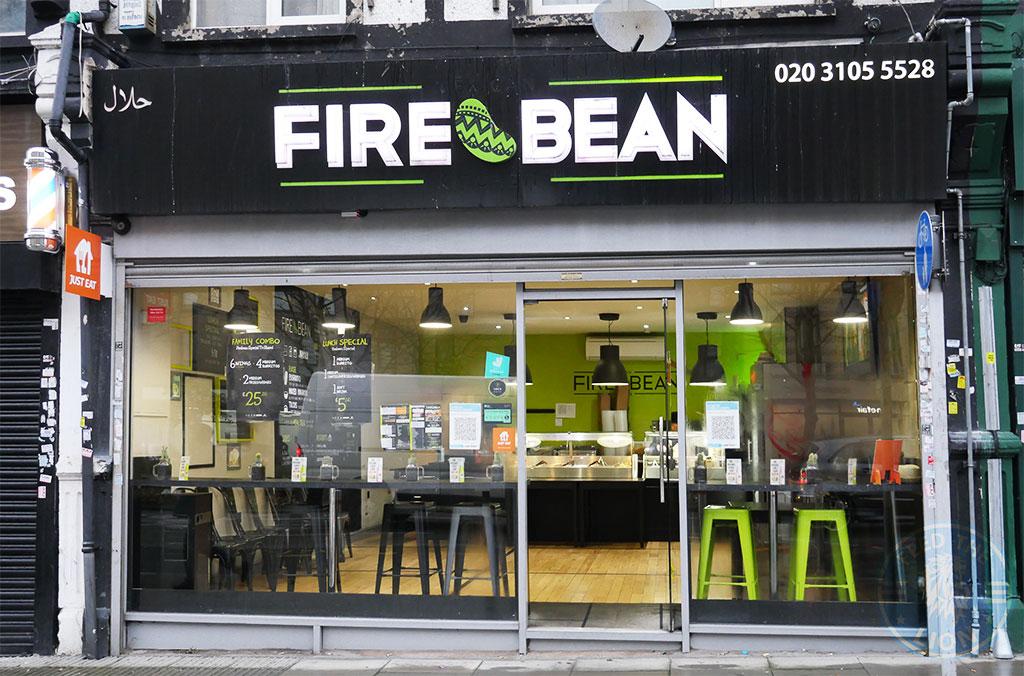 Fire Bean Gants Hill, Ilford Halal restaurant
