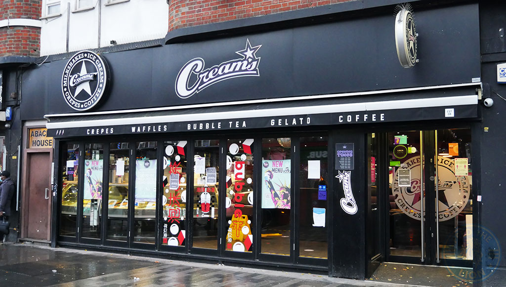 Creams Gants Hill, Ilford Halal restaurant