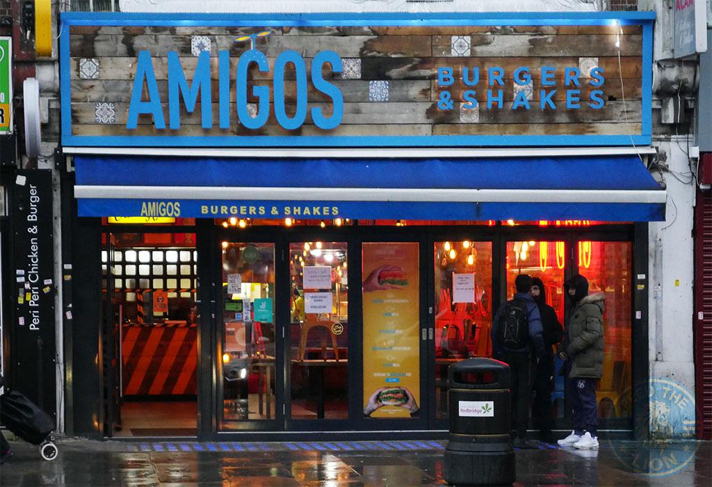 Amigos Burgers & Shakes Gants Hill, Ilford Halal restaurant
