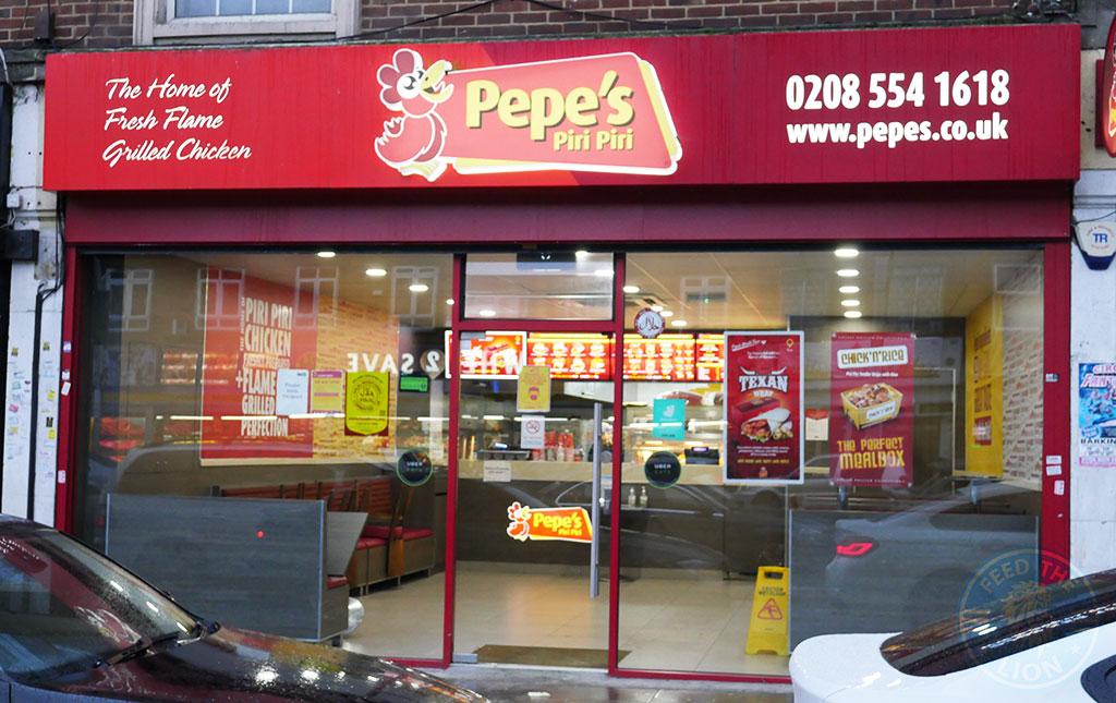 Pepe's Peri Peri Gants Hill, Ilford Halal restaurant