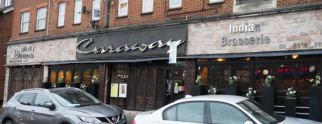 Caraway Indian cuisine Gants Hill, Ilford Halal restaurant