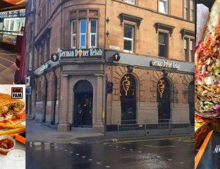 German Doner Kebab Halal Restaurant Food Glasgow