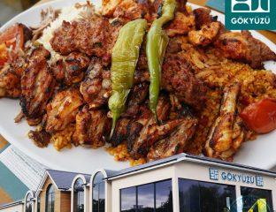 Gokyuzu Turkish Finchley, London Halal restaurant kebab