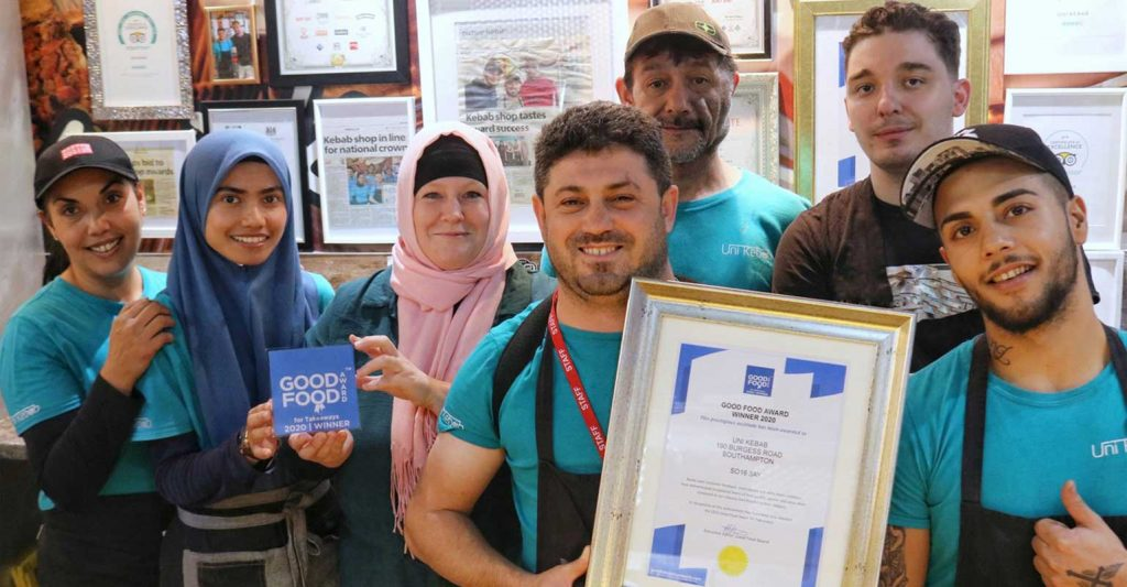 Good Food Award Takeaway 2020 Uni Kebab
