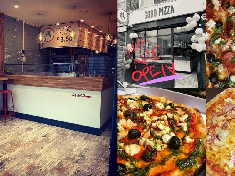 Good Pizza Whitechapel Halal London Italian