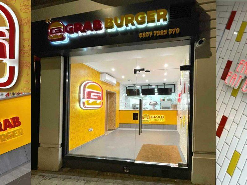 Grab Burger Halal Restaurant Paddington London