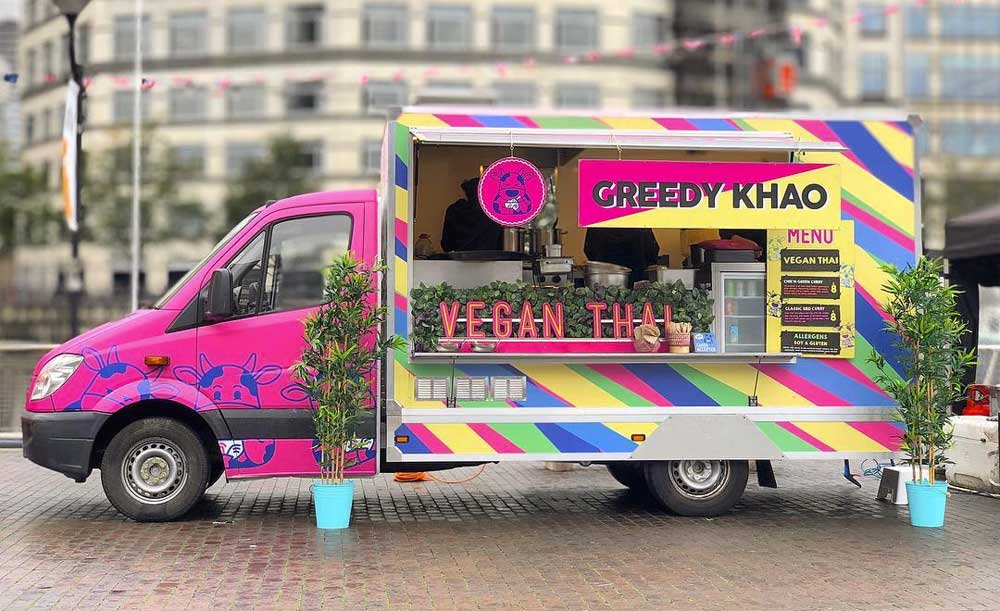 Greed Khao Kerb West India Quay Street Food London