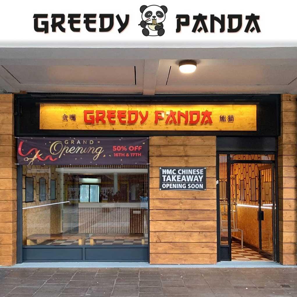 Greedy Panda Barking London Chinese HMC Halal