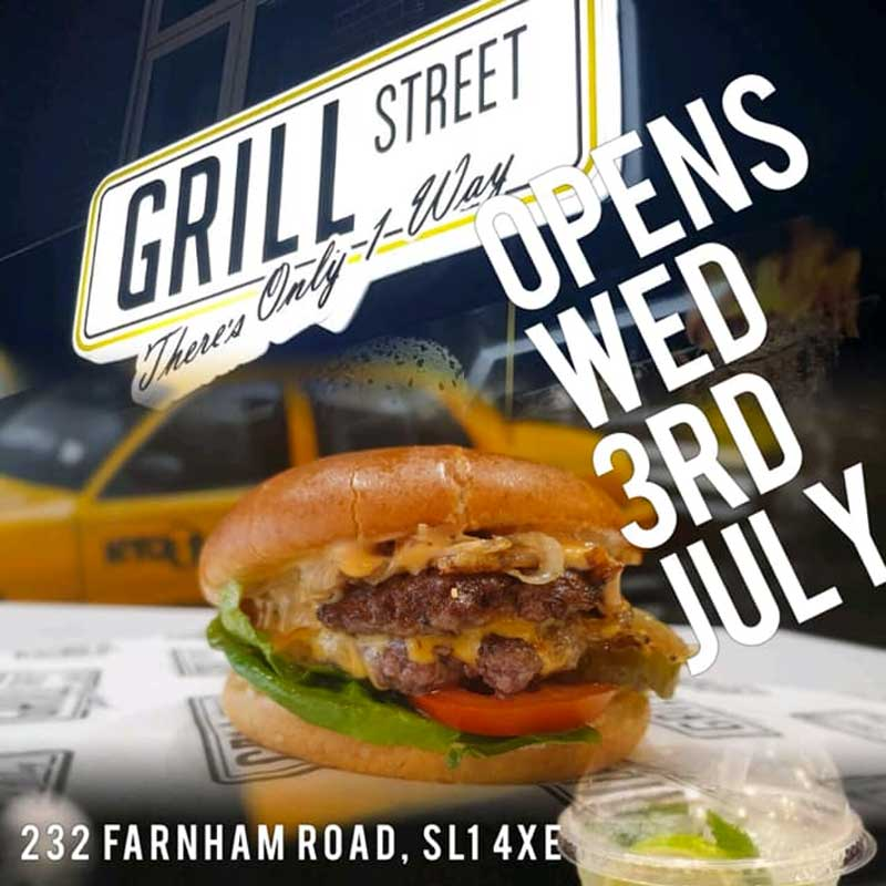 Grill Street Slough burger