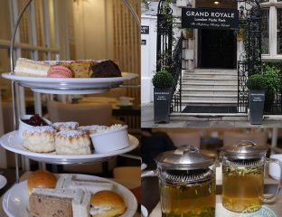 Grand Royale (Afternoon Tea) - Hyde Park, London
