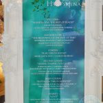 menu Dinner Time Story Banquet of Hoshena London Westfield Halal Immersive dining show