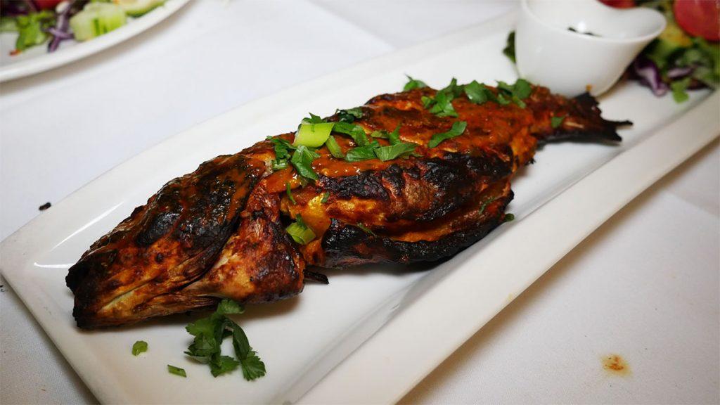 fish Haweli West Ealing Indian curry Halal restaurant
