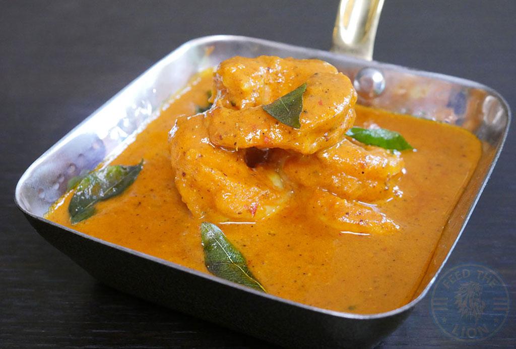 prawn Heritage Indian Halal Fine Dining Dulwich London