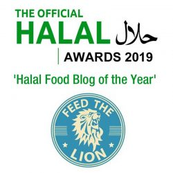 halal award offical winner Feed the Lion 2019