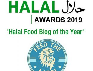 Halal Awards 2019 Food Blog of the Year