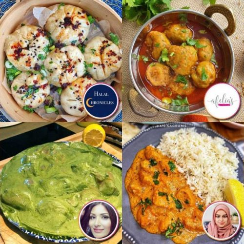 Halal Recipe Food Bloggers Instagram Youtube