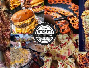 Halal street food fair Manchester