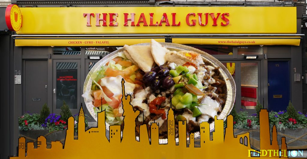 The Halal Guys Doner Gyros Kebabs London Leicester Square New York