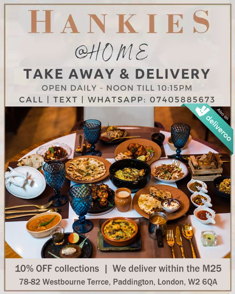 Hankies Marble Arch Delivery Takeaway Collection London Restaurants