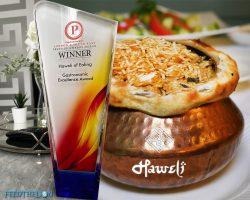 Haweli Ealing Indian Restaurant London Prestige Award