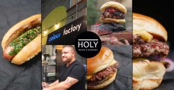 Holy Smoke & Burgers Colour Factory London Hackney