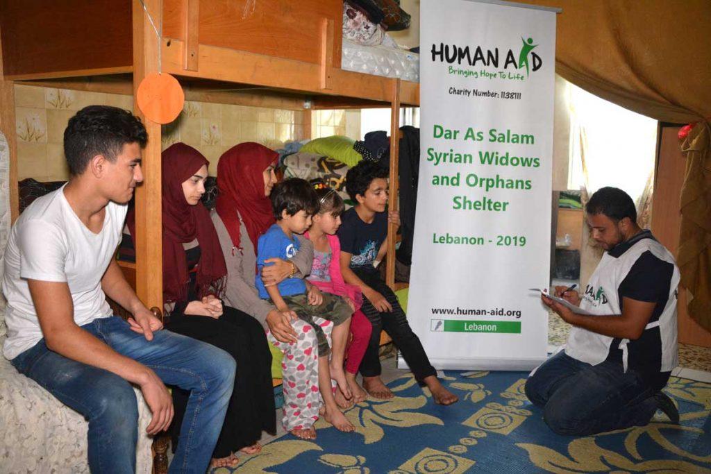 Human Aid Charity Dar El Salam Lebanon