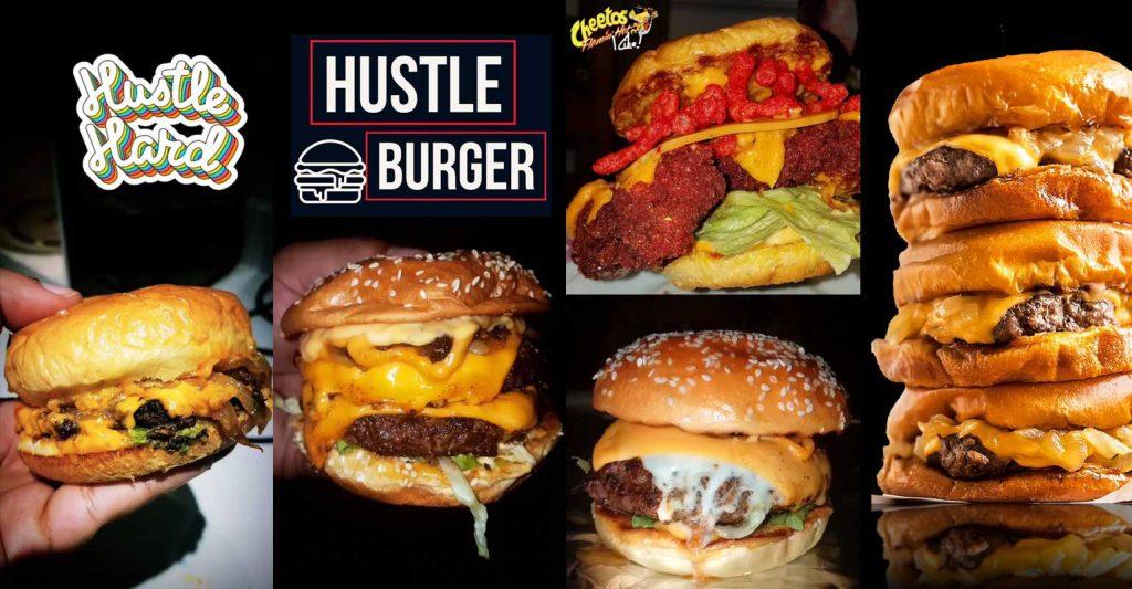 Hustle Burger Oldham Smashed HMC