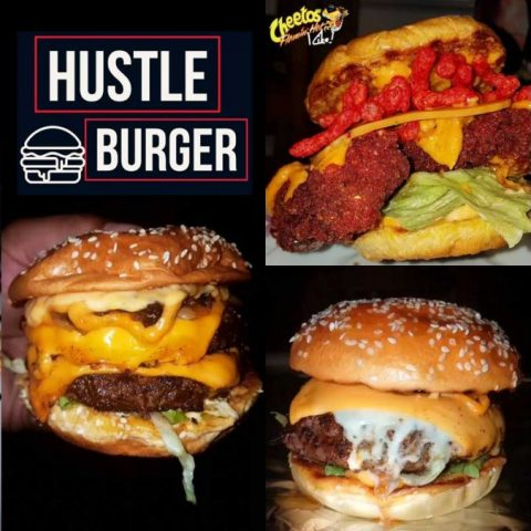 Hustle Burger Oldham Smashed HMC