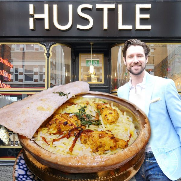 Tom Coulston Ealing Broadway Halal Indian restaurant Bombay Hustle
