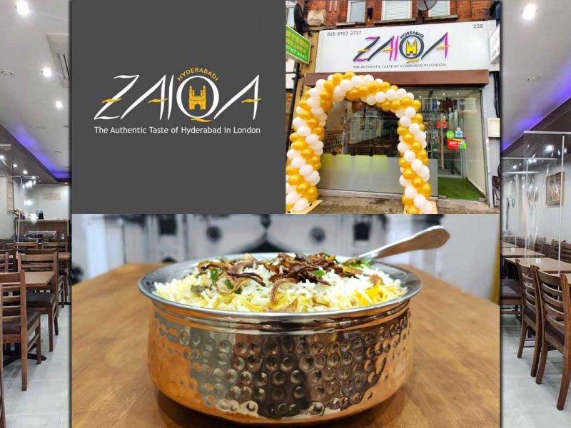 Hyderabadi Zaika Indian Restaurant Halal Tooting London