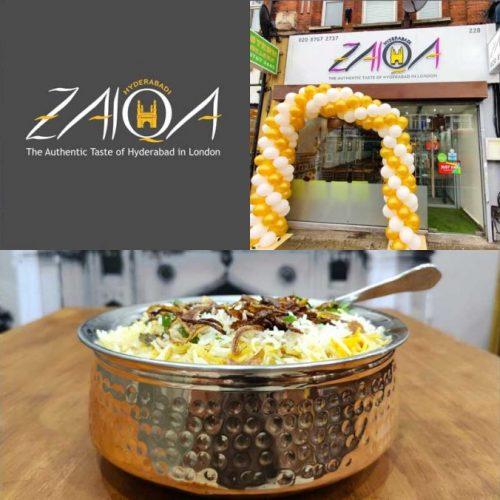 Hyderabadi Zaika Indian Restaurant Halal Tooting London