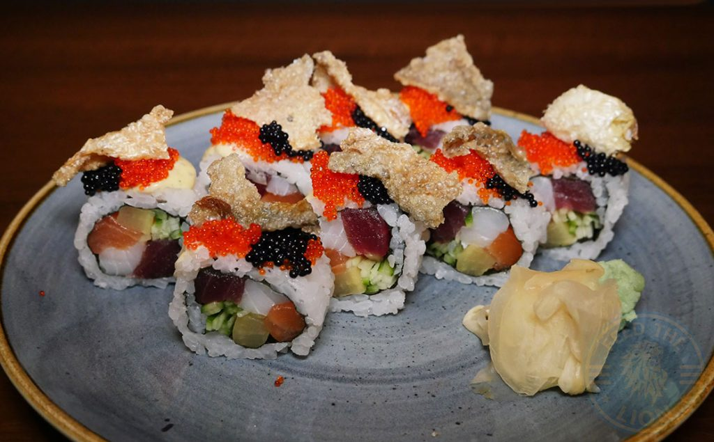Sushi salmon tuna seabass Isshoni issho-ni Bethnal Green Halal London Japanese