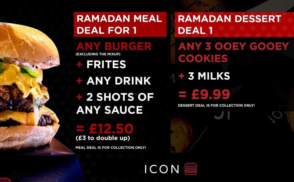 Icon Burgers Huddersfield Iftar Ramadan