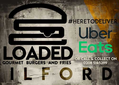Loaded Burger Ilford Deliveroo