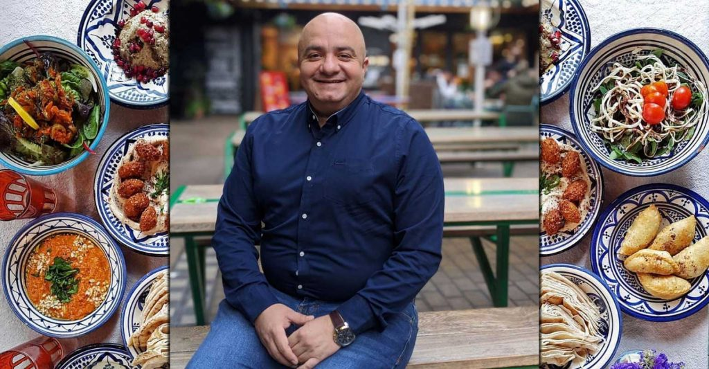 Imad's Syrian Kitchen Halal Restaurant Kingly Court London