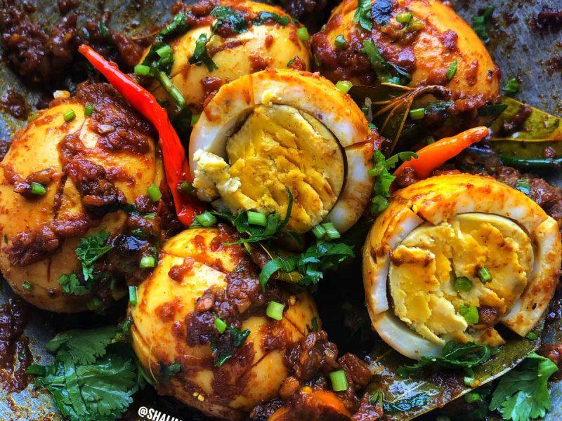 Egg Bhuna - Shalima's Kitchen