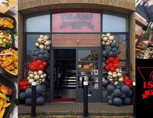 Island Pizzeria Halal Restaurant Coffee Grill Enfield Lock London