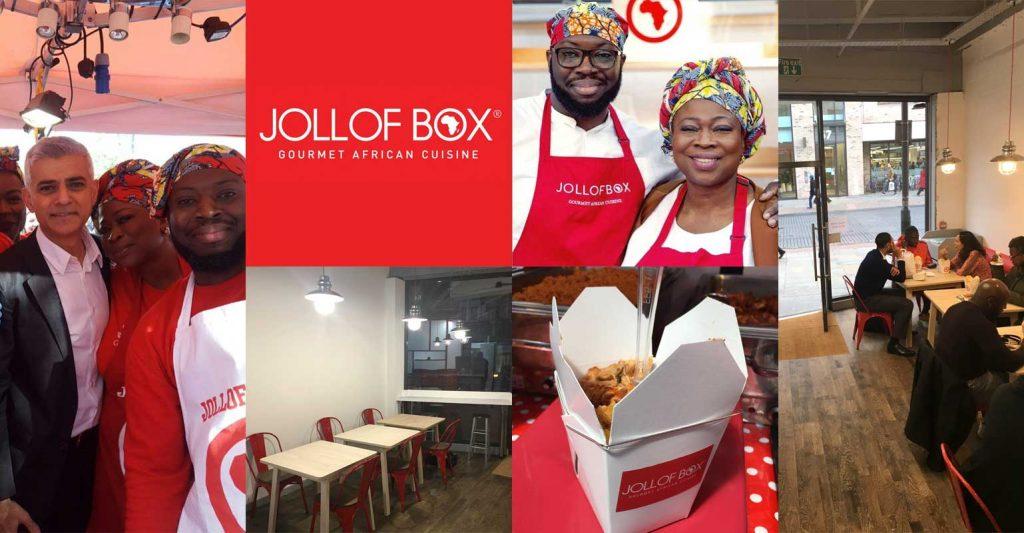 Jollof Box Dalston African Restaurant Halal