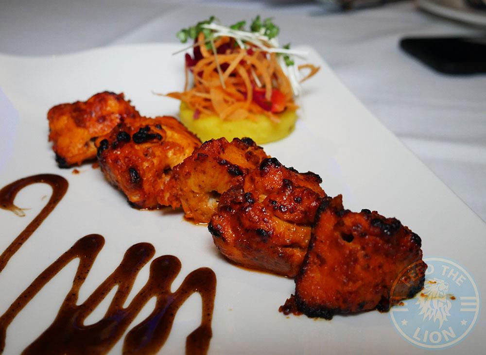 Lamb Chops Kuti's Brasserie Indian Southampton Halal