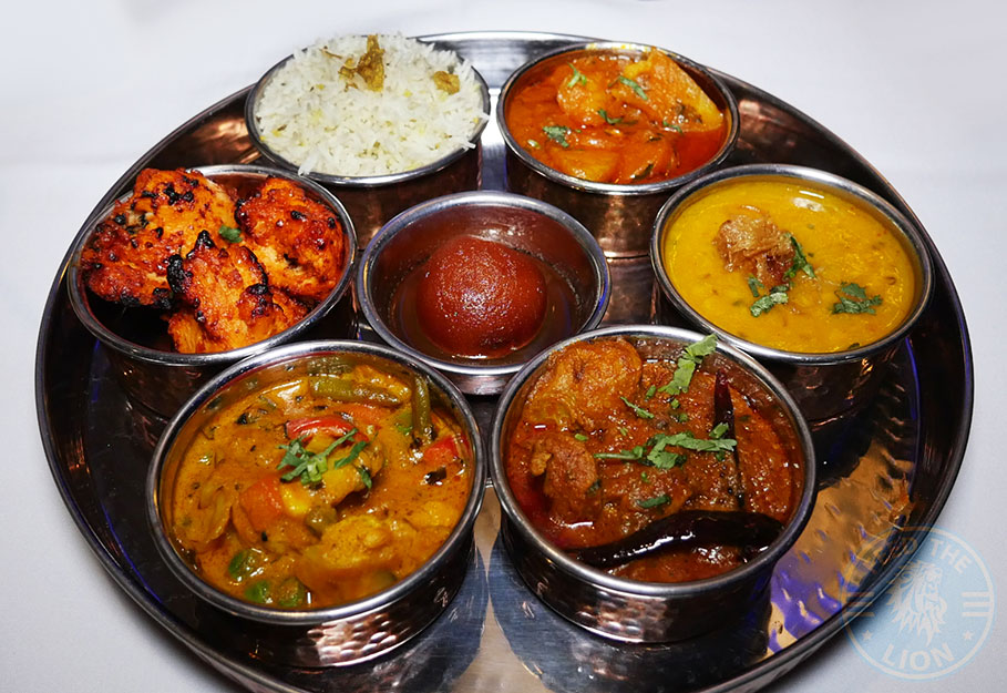 thali Kuti's Brasserie Indian Southampton Halal