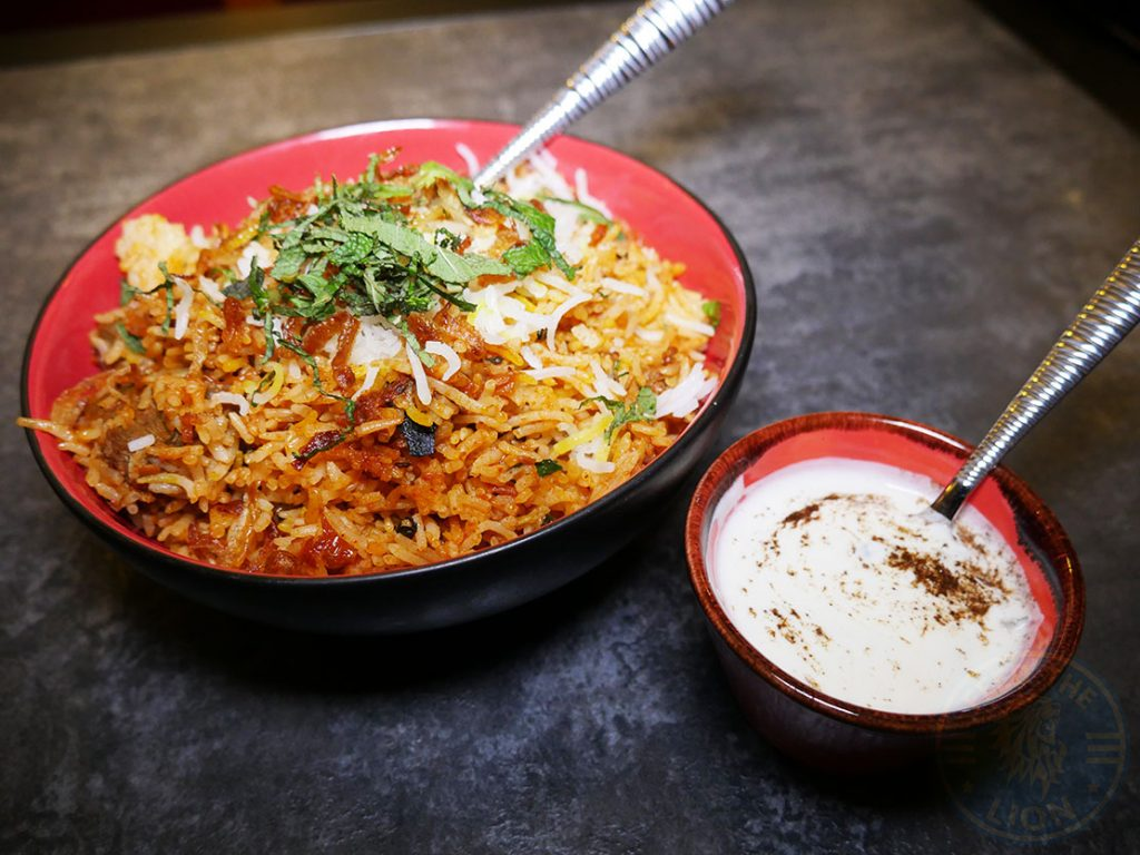 Rice Biryani Koolcha Indian Boxpark Wembley Halal
