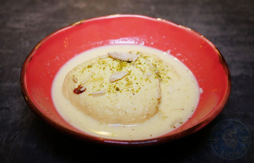 Rasmalai Dessert Koolcha Indian Boxpark Wembley Halal