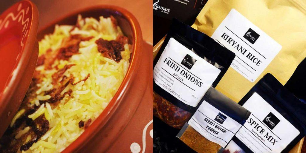 Kadiris London Biryani Meal Kit