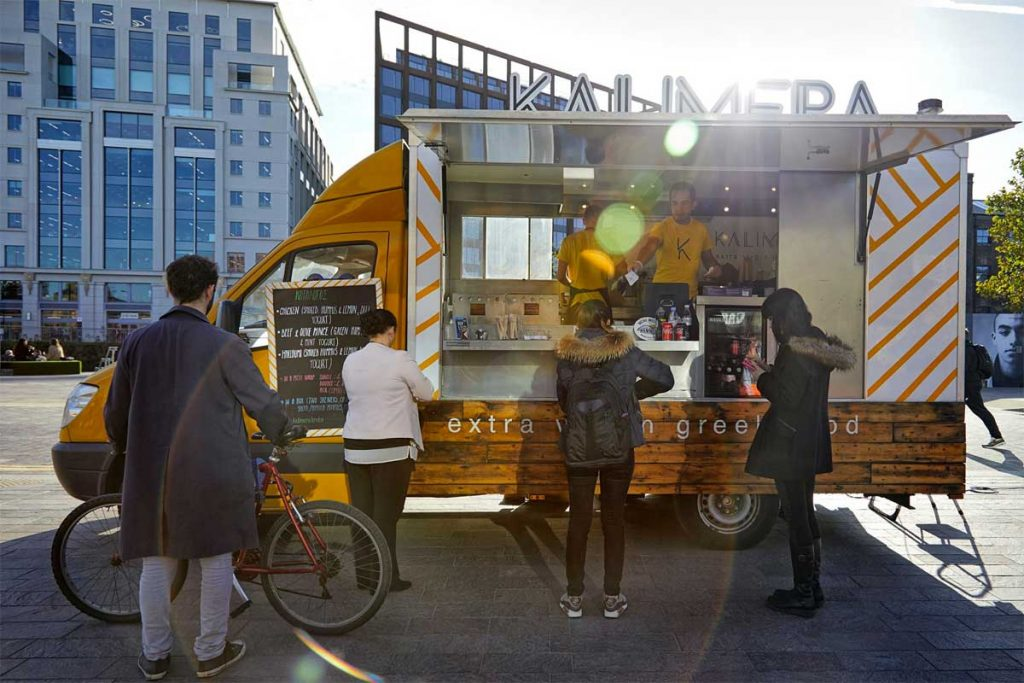 Kalimera Greek Kerb West India Quay Street Food London