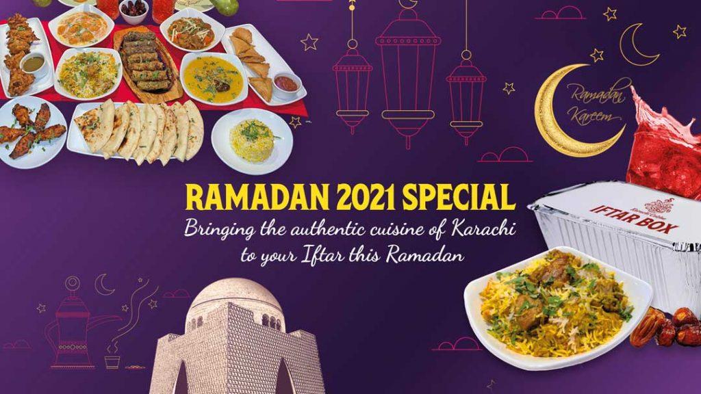 Karachi Cuisine London Ramadan Food Restaurant Menu