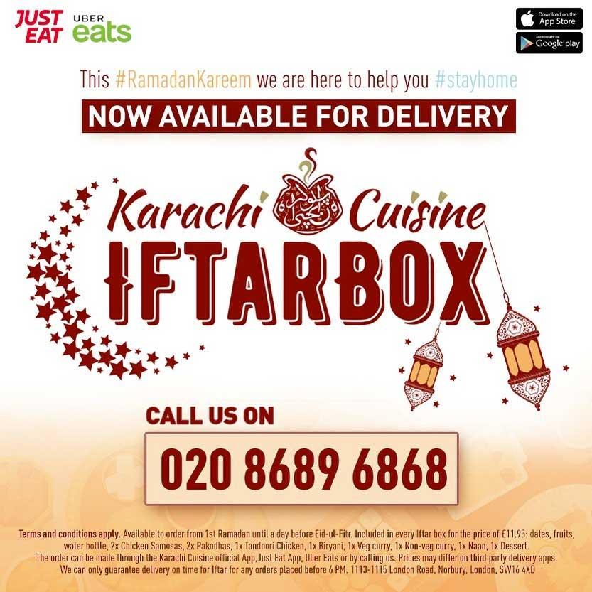 Karachi Cuisine Delivery Iftar Ramadan Menu Pakistani Indian