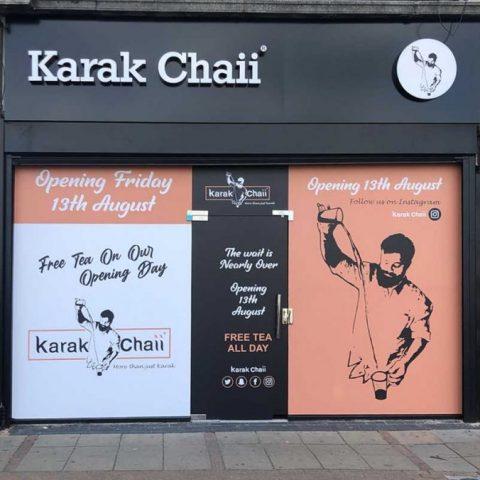 Karak Chaii Halal Indian Restaurant Tea Breakfast Slough