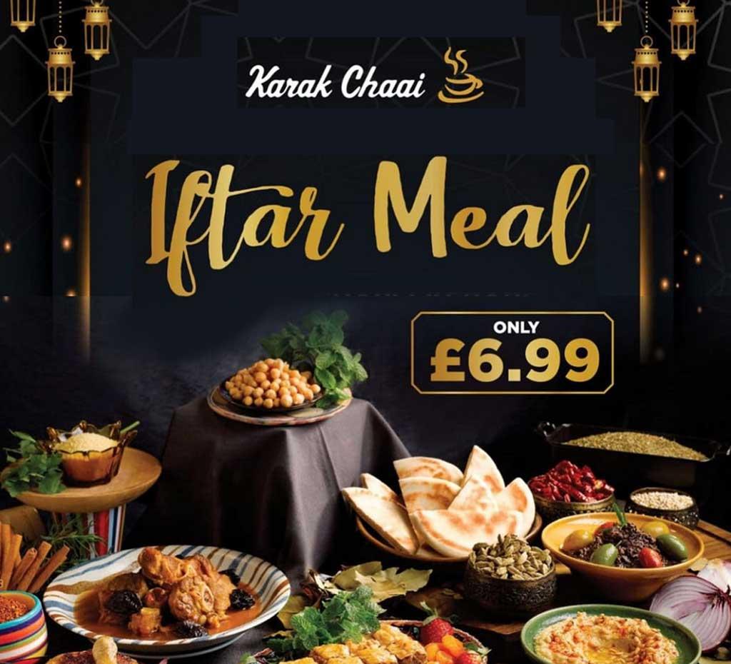 Karak Chaai Halal restaurant Manchester