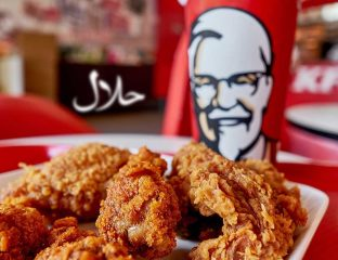 KFC chicken Halal UK restaurant branches